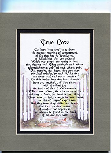 Genie's Poems- Engagement Gift- Marriage Proposal Love Poem- 1st Anniversary Gift-5th Anniversary-