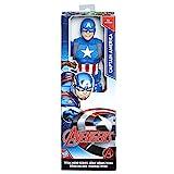 Avengers- Marvel Figura Titan Capitán América (Hasbro C0757ES0)...