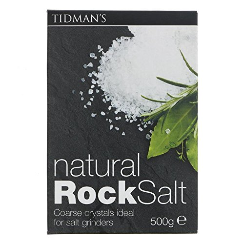 Tidman's Sal De Roca Natural (500g) (Paquete de 2)