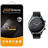(2 Pack) Supershieldz for TicWatch C2 and TicWatch C2+ / Plus Tempered Glass Screen Protector, 0.33mm, Anti Scratch, Bubble Free