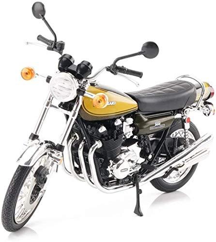 TXXM Juguetes de aleación de Motocicleta Adornos Modelo Modelo Adulto Colección del Juego del Cabrito Modelo, Color: Marrón (Color : Coffee Color)