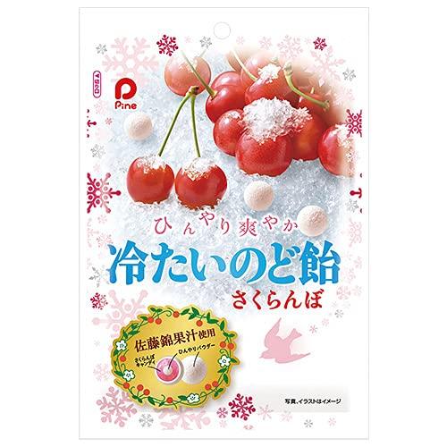 パイン 冷たいのど飴さくらんぼ 70g×6袋入×(2ケース)