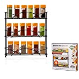 Best Spice Racks - ADEPTNA Heavy duty Free Standing 3 Tier Spice Review