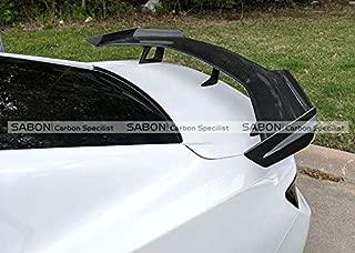FidgetKute Carbon Fiber Rear Trunk 1LE Style Spoiler GT Wing 6th Gen Camaro SS ZL1 2016+