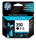 HP 350 Black Inkjet Print Cartridge Negro cartucho de tinta - Cartucho de tinta para impresoras (Negro, HP Officejet J5700, HP Photosmart C5200, HP Photosmart C4300, HP Photosmart C4200, HP Deskjet D4200, Negro, Inyección de tinta, 20 - 80%, 15 - 35 °C)