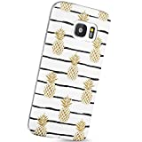 VIVIBIN Galaxy S7 Case Pineapples Slim-Fit Anti-Finger Print Anti-Scratch Shock Proof Flexible Matte TPU Soft Case Cover for Galaxy S7 Case(5.1 inch)