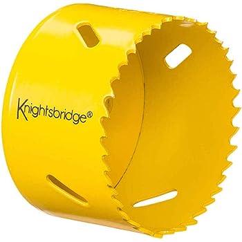 KS Tools 129.5075 Corona perforadora de bimetal de HSS (Ø 75 mm ...