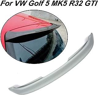 JC SPORTLINE fits Volkswagen VW Golf 5 MK5 GTI&R32 2005-2009 Rear Roof Spoiler Window Top Wing (FRP)
