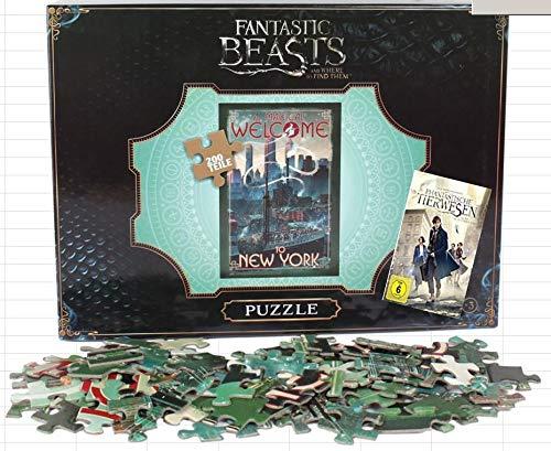 Phantastische Tierwesen und wo sie zu finden sind: 200 Teile Puzzle plus Spielfilm DVD
