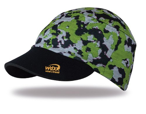 WIND X-TREME Digital Camo Green Casquette de Tennis Mixte, Vert, Taille Unique