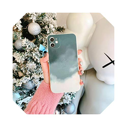 Luxury - Carcasa impermeable para iPhone 12 11 Pro Max Mini Cover Silicona para iPhone XR XS Max X 7 8 Plus se 2020 Soft TPU Cover 5-For iPhone 12