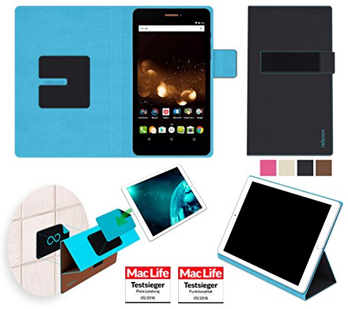 reboon Hülle für Acer Iconia Talk S A1-734 Tasche Cover Case Bumper | in Schwarz | Testsieger