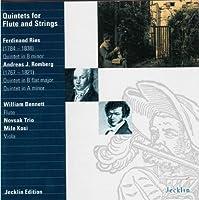 Ries/Romberg: Flute Quintets