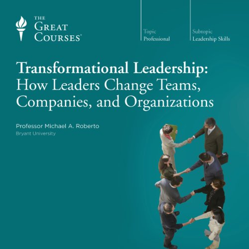 Couverture de Transformational Leadership: How Leaders Change Teams, Companies, and Organizations