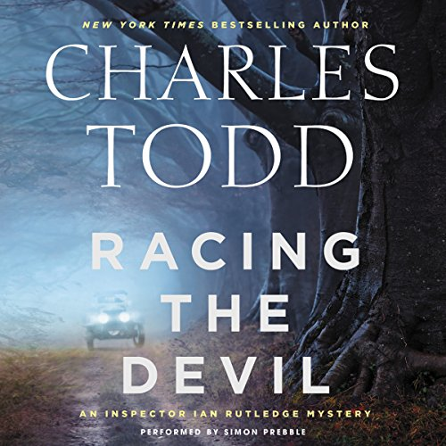 Racing the Devil audiobook cover art