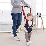 Babymeo bébé marche en marche sous - bambin baby walker par autbye harnais, debout et marcher apprentissage aide pour bébé (Blue)