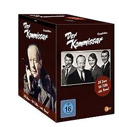 DVD-Box Der Kommissar 28 Disks mit Erik Ode, Günther Schramm