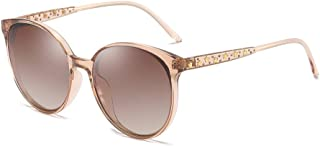 BVAGSS Vintage Oversized Polarized Sunglasses for Women 100% UV400 Protection WS069