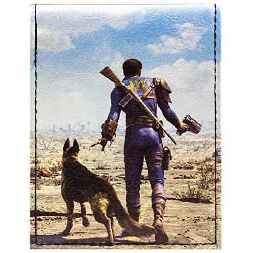 Fallout 4 Dogmeat & Soul Survivor Schwarz Portemonnaie Geldbörse