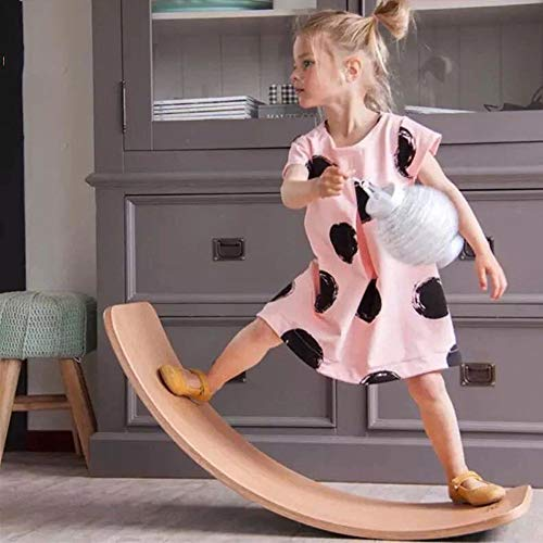 Review Balance Board for Standing Desks and Exercise Balance Boards,Wooden Balance Board Children'...