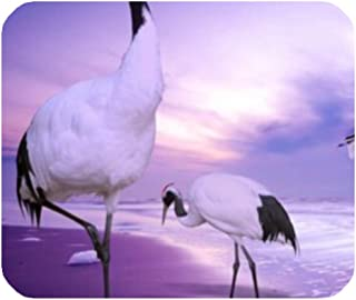 LiFei Business Red-Crowned Crane Bird Gaming Mouse pad Mousepad Home/Office Dust and Stain Resistant Hot Sale Fast Shipping