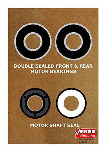 Wesbaun Consultants Inc Pool & Spa Motor Bearing Kit & Shaft Seal USQ1102 USQ1152 UST1102 UST1152 K103