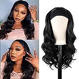 TNICE Headband Wigs Body Wave For Black Women Human Hair Wigs Brizilian Virgin Human Hair Wig Body Wave Glueless None Lace Front Wigs Machine Made Headband Wig 16 Inch