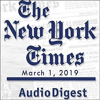March 1, 2019                   De :                                                                                                                                 The New York Times                               Lu par :                                                                                                                                 Mark Moran                      Durée : 53 min     Pas de notations     Global 0,0