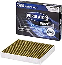 Purolator PBC25870 PurolatorBOSS Premium Cabin Air Filter with Febreze Freshness