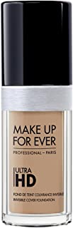 Foundation Ultra Hd Fluid Foundation Ultra Hd, Y255 SAND BEIGE , Authentic 100% From Paris France (Smooth, Oil Free , Cover Ance Dark Spot , Brightening) 30ml