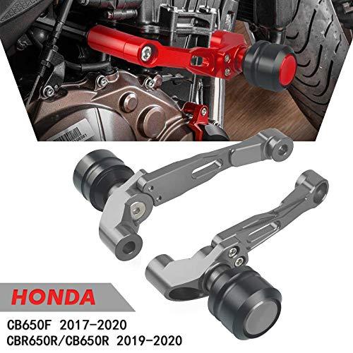 Motor Sturzpads Rahmen Sliders Protector Für H-o-n-d-a CB650F CB 650 F 2017-2020 CB650R CB 650 R 2019-2020 CBR650R CBR 650 R 2019-2020-Titan