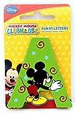 Selis Mickey Mouse - Letra Adhesiva de Madera - Hay 5 Colores Diferentes, se envían de Forma...