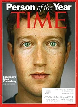Time December 27, 2010 Mark Zuckerberg/Facebook on Cover, Farewells: Lena Horne - Dennis Hopper