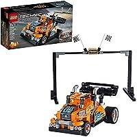 LEGO Technic Race Truck Pull-Back Model Building Kit