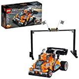 LEGO Technic Race Truck 42104 Pull-Back Model Truck Building Kit, New 2020 (227 Pieces)