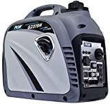 Pulsar G2319N 2,300W Portable Gas-Powered Quiet Inverter Generator With USB Outlet &...