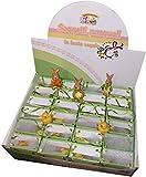 DUE ESSE SRL Confezione di 24 Miniature di Pulcini e Coniglietti Assortiti in Piccole borsine Regalo per Pasqua, Ricorrenze, Pensierini (h. 6 cm cad. Max)