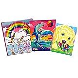 Lisa Frank 30th Anniversary 3-Pack Binder, Spiral Notebook & Folder Set (Multicolor)