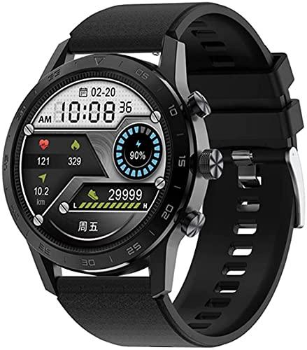 wyingj Reloj Inteligente Bluetooth Llamada Botón Giratorio IP68 Impermeable Reproductor De Música Reloj Inteligente-B