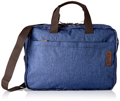 BREE Collection Unisex-Erwachsene Punch Style 67, Jeans Denim, Briefc. S19 Umhängetasche Blau (Jeans Denim)