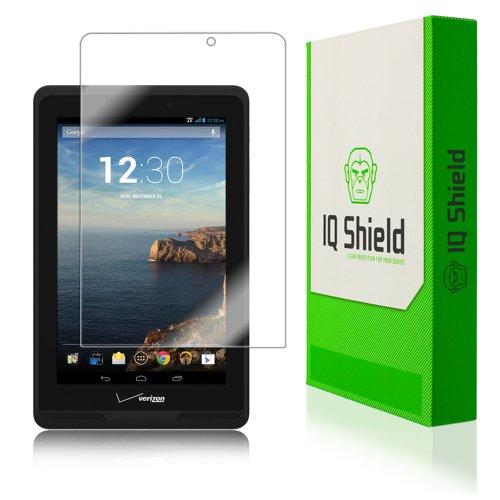IQ Shield Screen Protector Compatible with Verizon Ellipsis 7 inch LiquidSkin Anti-Bubble Clear Film
