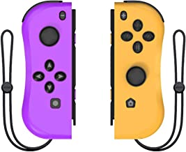 Joy Con Controller Replacement for Nintendo Switch - Left and Right Controllers Compatible for Nintendo Switch Console, Wired/Wireless L/R Switch Remotes