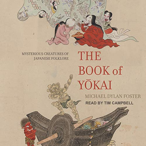 The Book of Yokai audiobook cover art
