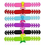 ARTIBETTER 6pcs Face Cover Strap Extender Mermaid Pattern Cartoon Face Ear Hook Extension Grips Ear Band Extension Buckle Band Strap Anti-Slip Grip Buckle for Kids Students