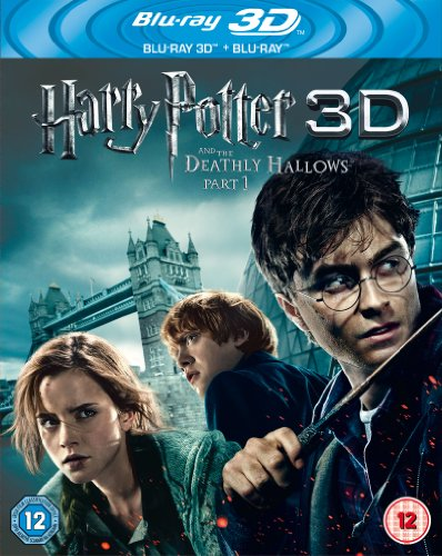 Harry Potter And The Deathly Hallows Part 1 [Blu-ray 3D + Blu-ray] [2017] [Region Free]