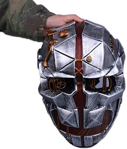 FXNB Dishonored Shame 2 Demütigung 2 Maske Corvo Cosplay Halloween Assassin Mask, Humiliation2Masks-Onesize