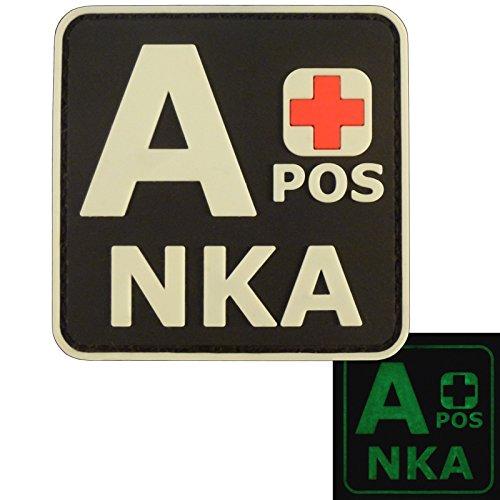 2AFTER1 Glow Dark APOS A+ NKA Blood Type