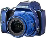 """Pentax K-S1 Kit SMC da 35 mm F/2.4, Sensore CMOS Formato APS-C da 20 MP Senza Filtro AA, Stabilizzazione Ottica sul Sensore Video Full HD a 30 Fps, LCD da 3"""", Blu"""