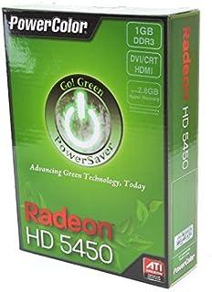 PowerColor GO! Green AMD Radeon HD5450 1GB DDR3 VGA/DVI/HDMI Low Profile PCI-E Video Card (Uefi Read [並行輸入品]