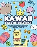 Kawaii libro de colorear: Más de 40 lindas y divertidas páginas para colorear de doodle Kawaii...